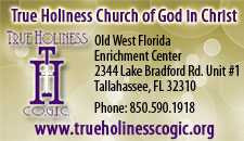 True Holiness Church of God in Christ ad