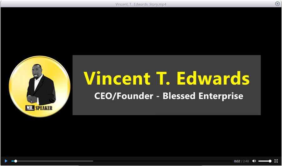 Vincent T. Edwards promotional video